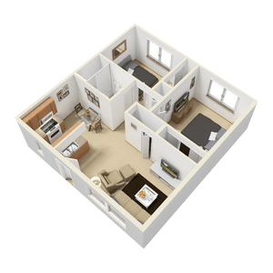 Floorplan for Sienna Place Apartments