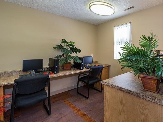 Clubhouse Interior - Computer Center - CO