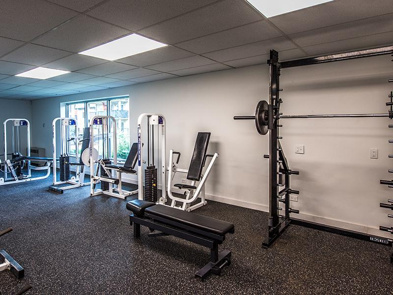 Community Fitness Center | Cedar Run Apartments