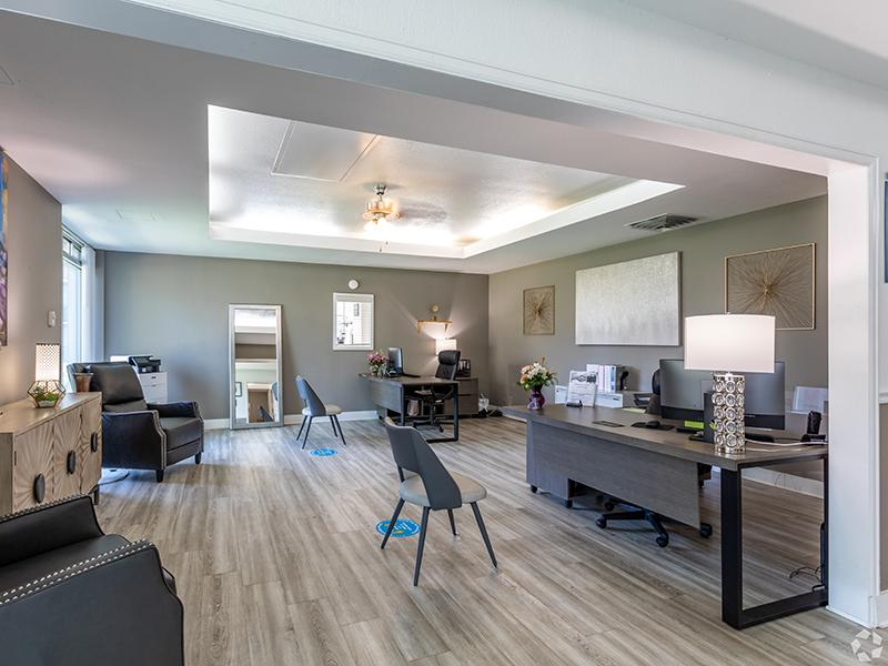 Clubhouse Interior | Cedar Run Apartments