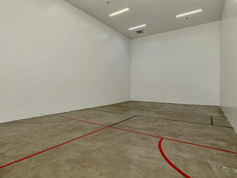 Racquetball Court | Cedar Run Apartments in Denver, CO