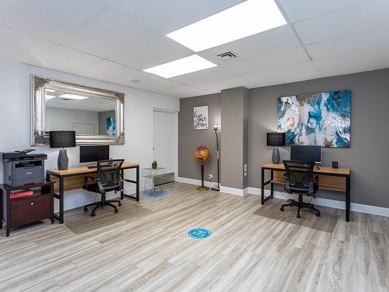 Clubhouse Business Center   Cedar Run Apartments