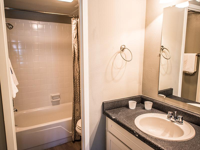 Spacious Bathroom | Cedar Run Apartments