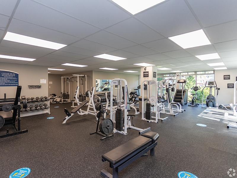 Fitness Center | Cedar Run Apartments