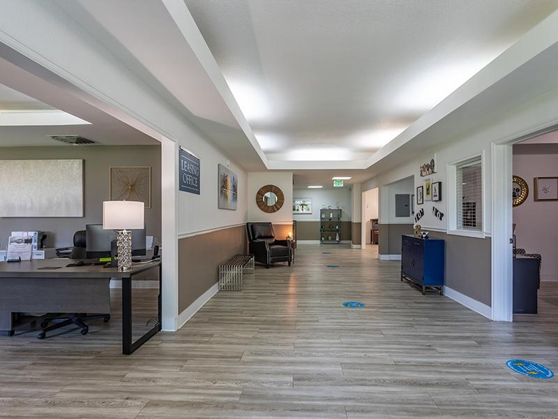 Clubhouse Interior   Cedar Run Apartments