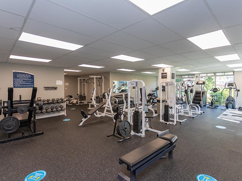 Fitness Center   Cedar Run Apartments