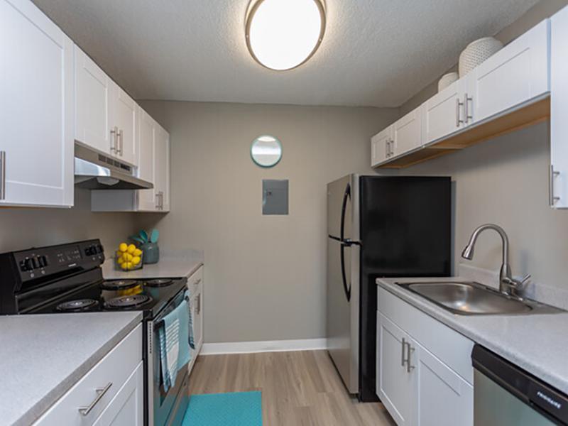 Living Room & Kitchen   Cedar Run