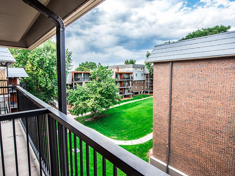 Apartments With a Balcony View | Cedar Run Apartments