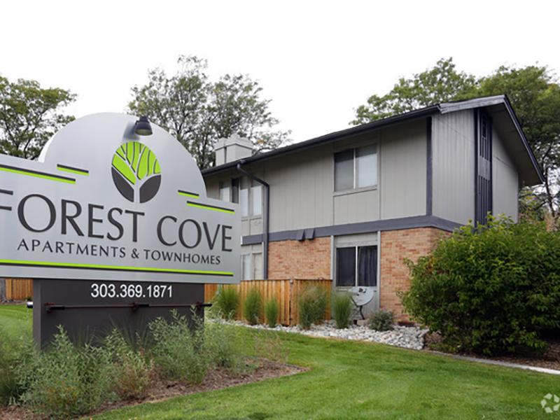 Welcome Sign | Forest Cove Apartments