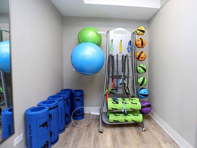 Exercise Equipment | Forest Cove Apartments