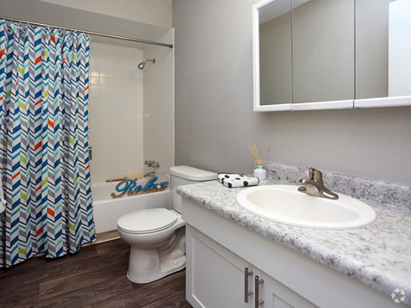 Bathroom | Forest Cove Apartments for rent