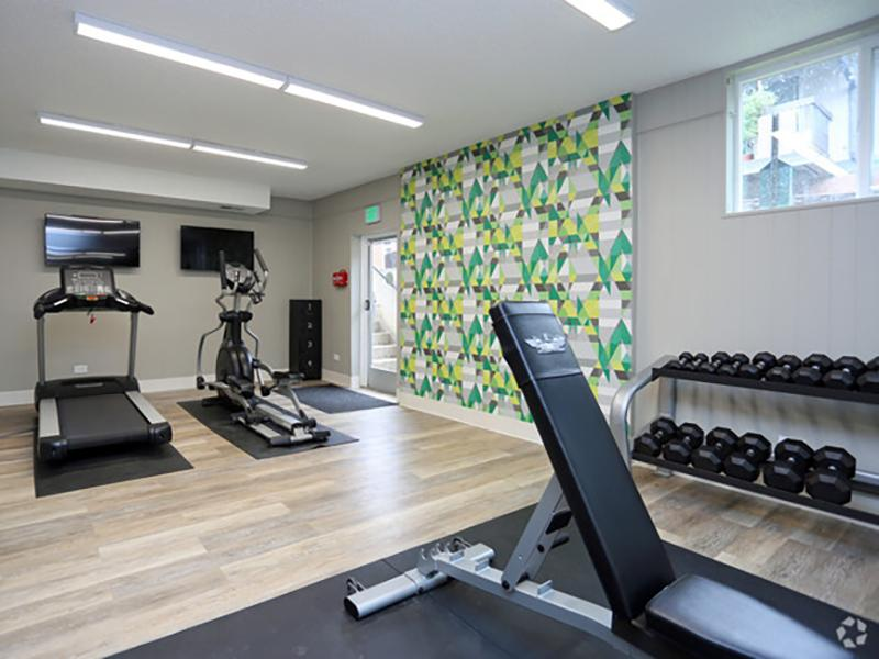 Gym | Forest Cove Apartments