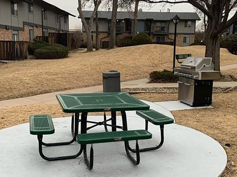 Picnic Area | Forest Cove Apartments