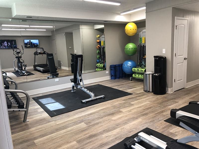 Fitness Center | Forest Cove Apartments
