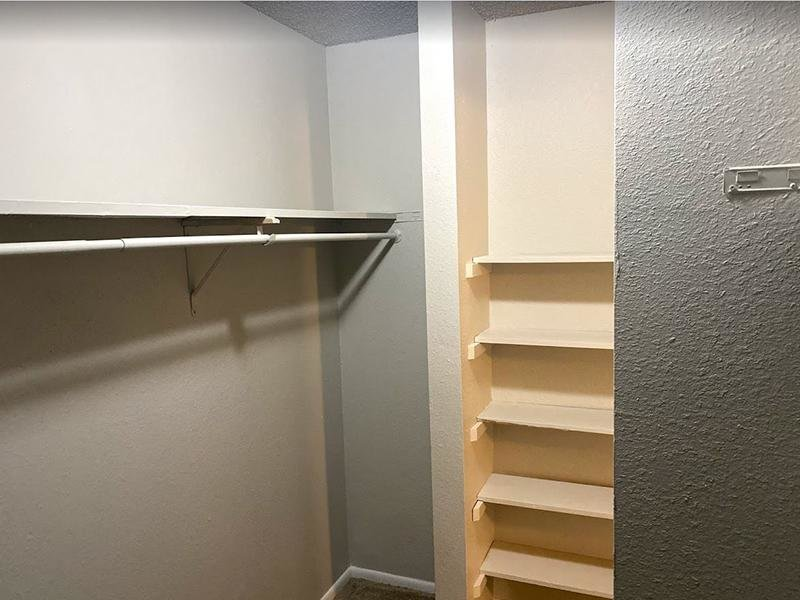 Closet Space | Falcon Run Apartments in Englewood, CO