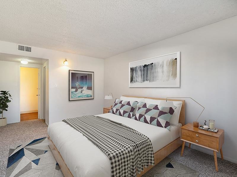Model Master Bedroom | Falcon Run Apartments