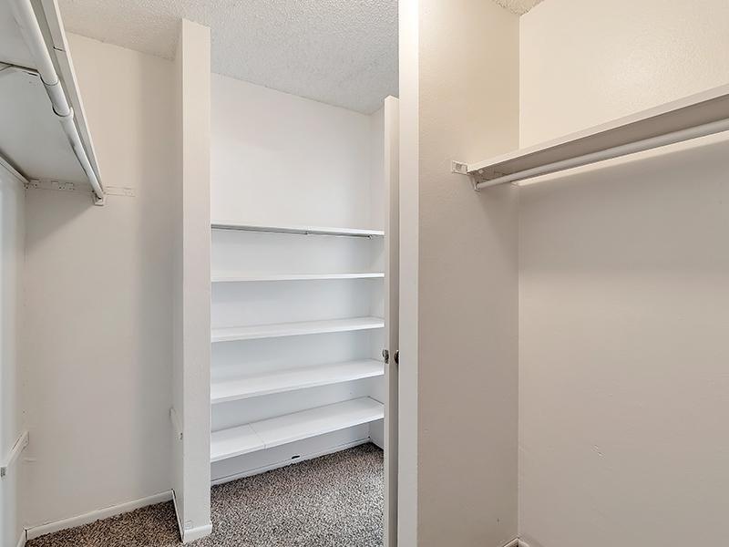 Closet Space | Falcon Run Apartments