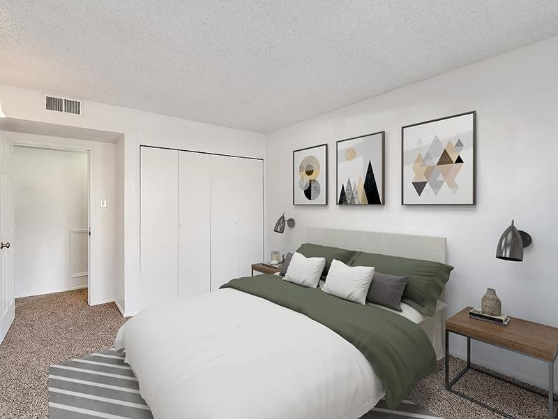 Model Bedroom | Falcon Run Apartments