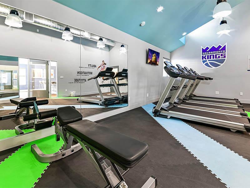 Fitness Center | Creek @ 2645