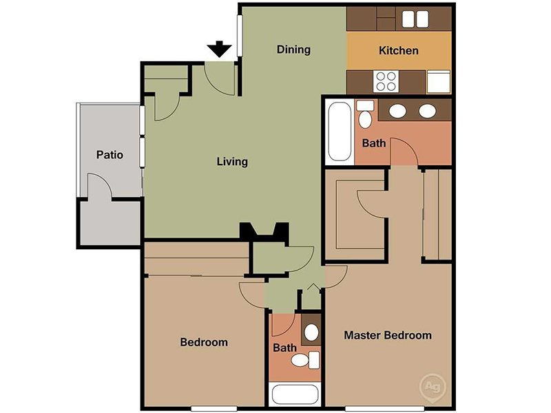 Floor Plans at Fifty 101 Apartments