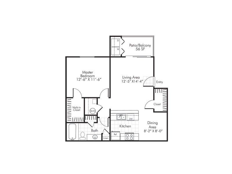 Floor Plans at Villa Serena Apartments