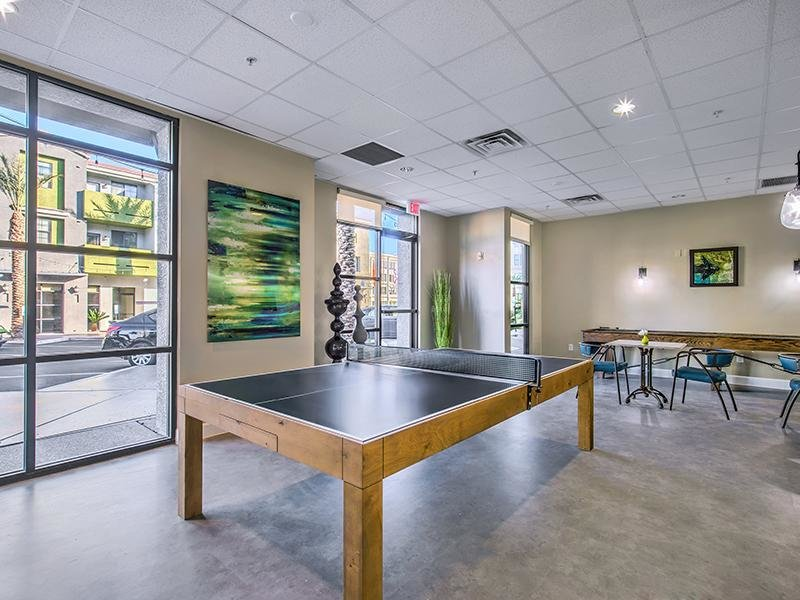 Game Room | Ping Pong | Spectrum Apartments