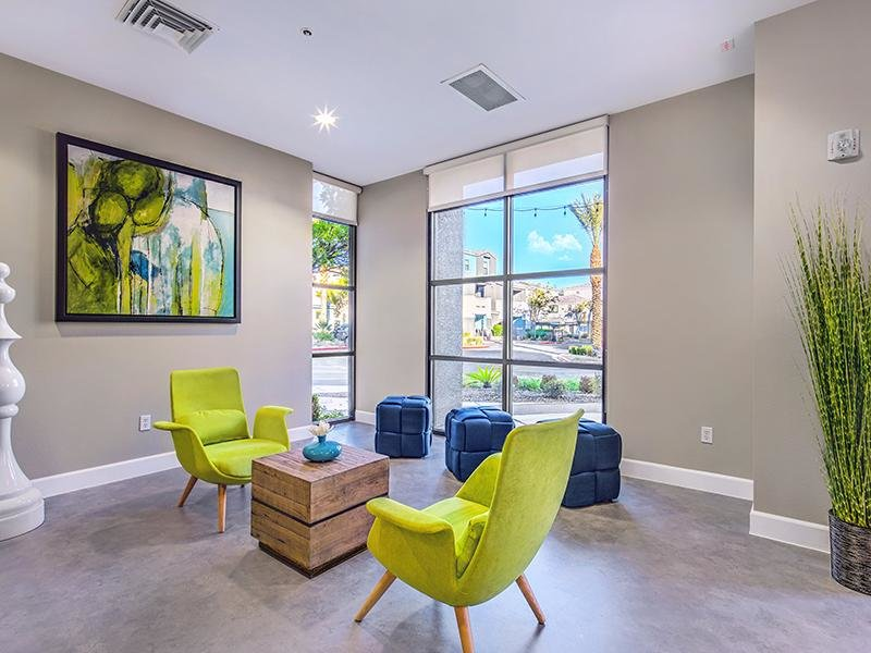 Clubhouse Interior | Spectrum Apartments in Vegas