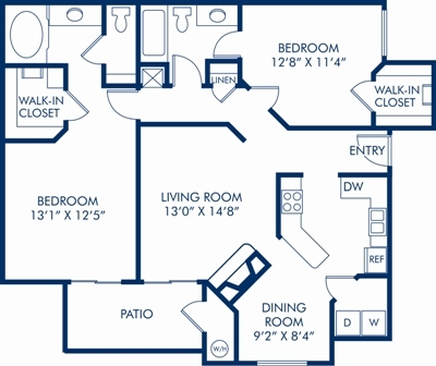 Floor Plans at Mirasol Apartments