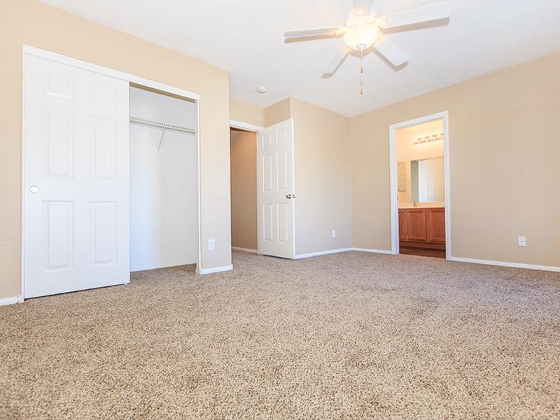Large Bedroom | Suncrest Townhomes in Las Vegas, NV