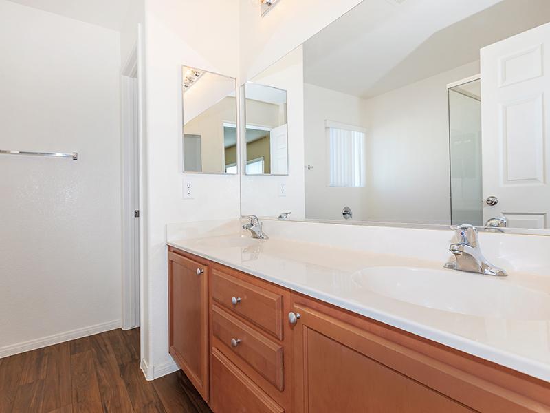 Bathroom Counter | Suncrest Townhomes in Las Vegas, NV