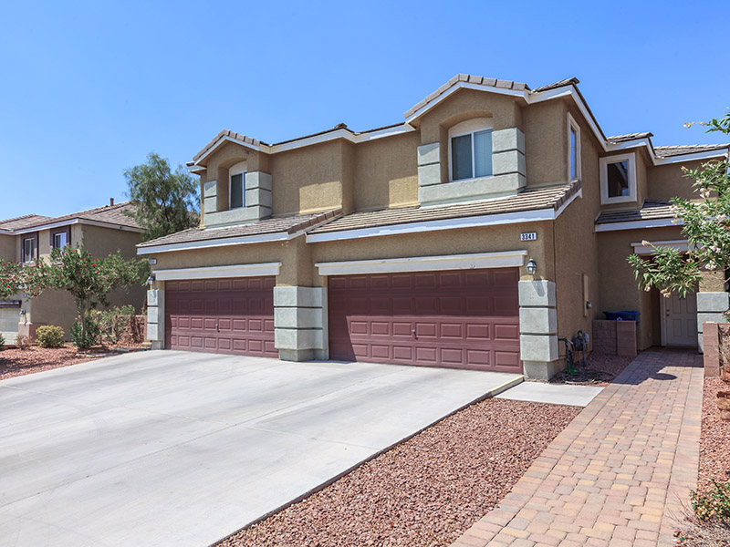 Townhome Exterior | Suncrest Townhomes in Las Vegas, NV