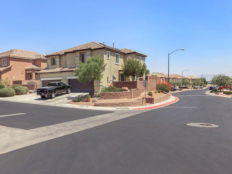 Building Exterior | Suncrest Townhomes in Las Vegas, NV
