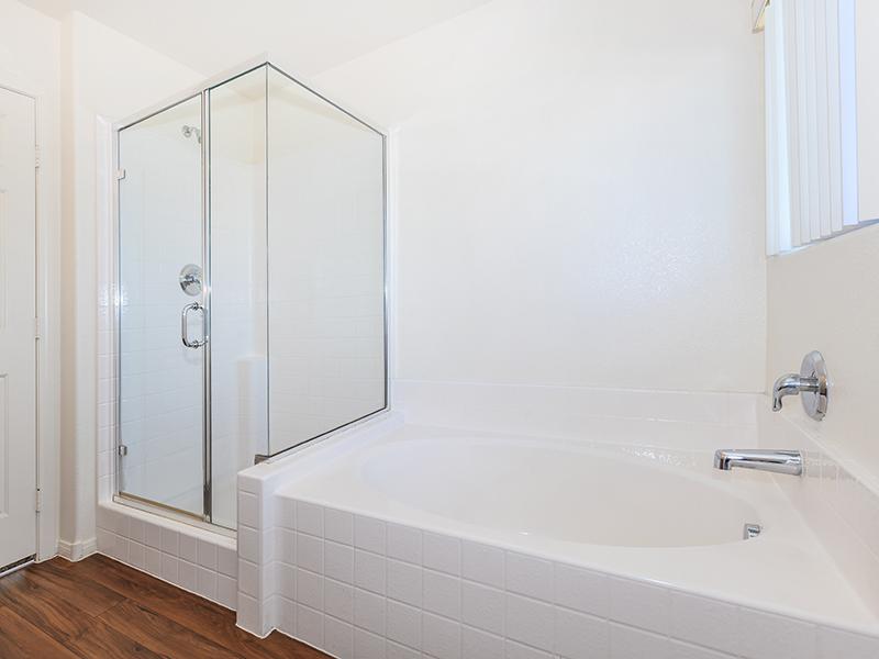 Bathroom Tub | Suncrest Townhomes in Las Vegas, NV