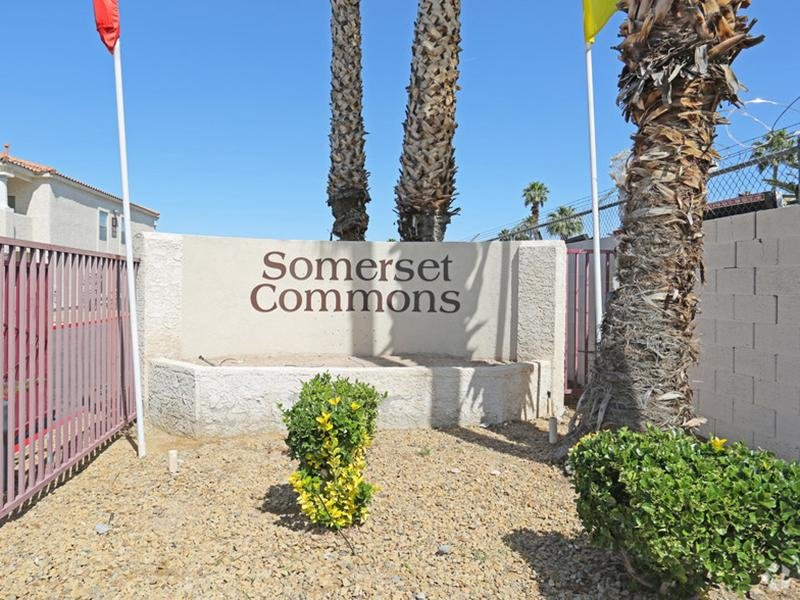 Welcome Sign - Somerset Commons