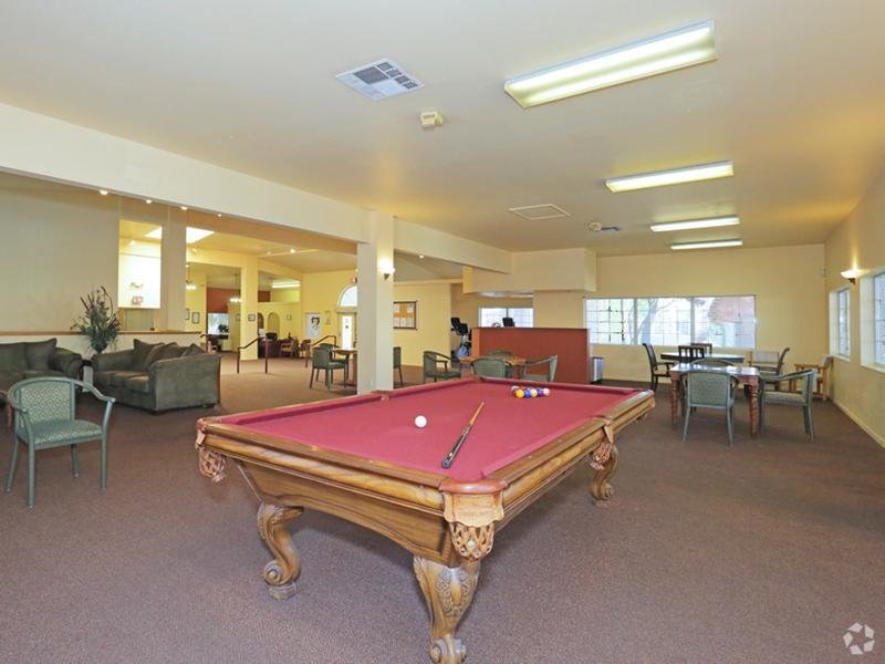 Club House Interior - Pool Table - Somerset Common