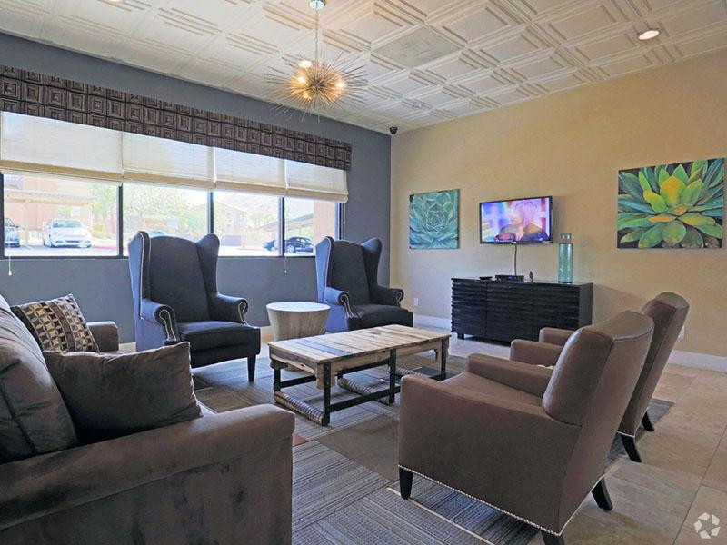 Club House Lounge | Desert Ridge Apartments