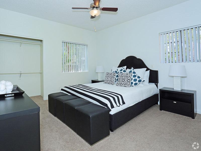 Master Bedroom | Desert Ridge Apartments