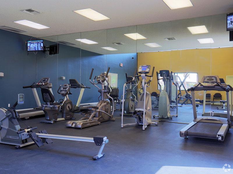 Gym | Desert Ridge Apartments