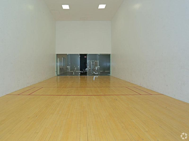 Racquet Ball Court | Desert Ridge Apartments