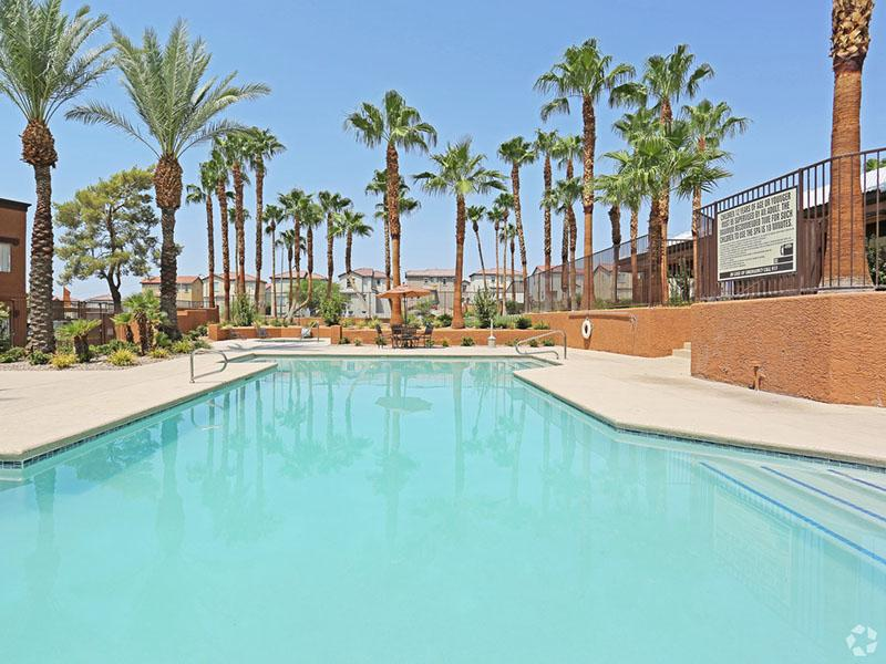 Pool  | Desert Ridge Apartments