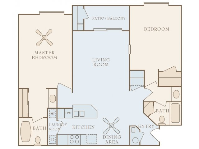 Floor Plans at 80 On Gibson Apartments