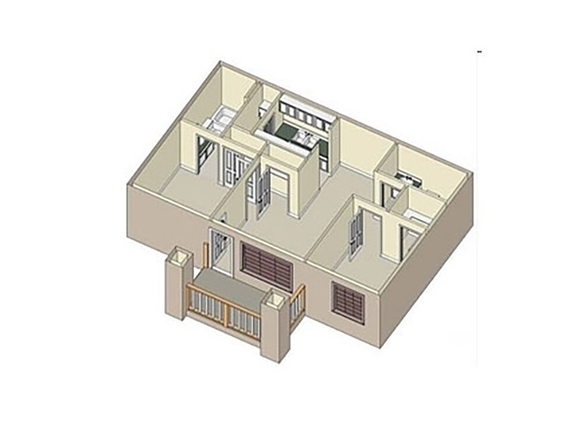Our 2X2 W/D is a 2 Bedroom, 2 Bathroom Apartment