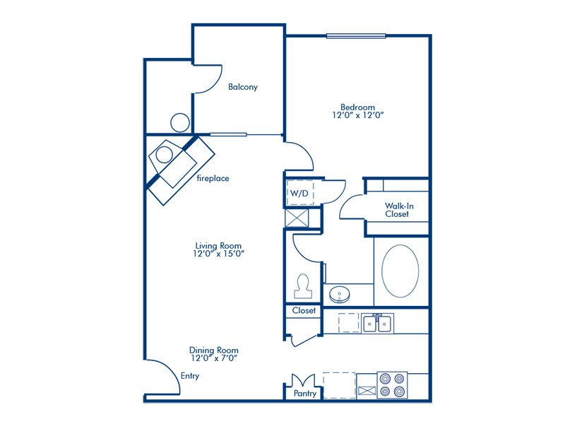 Floor Plans at Napoli Apartments