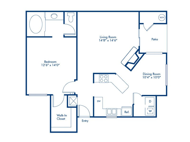 Floor Plans at The Avondale Apartments
