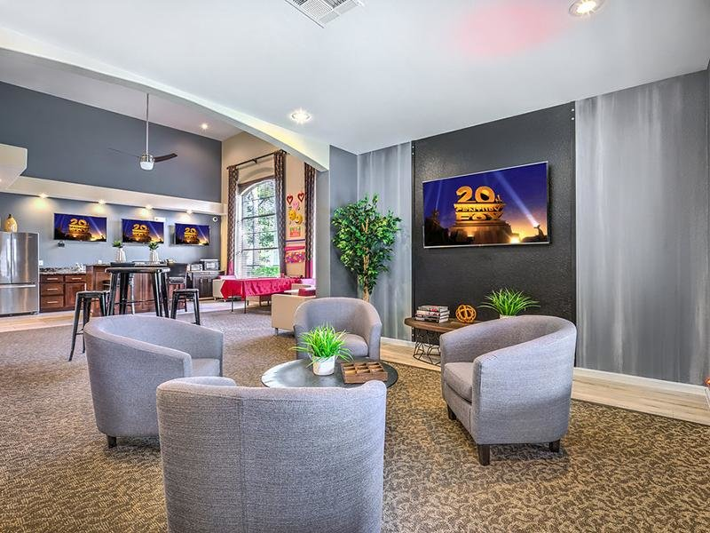 The Avondale | Theater | Clubhouse Interior