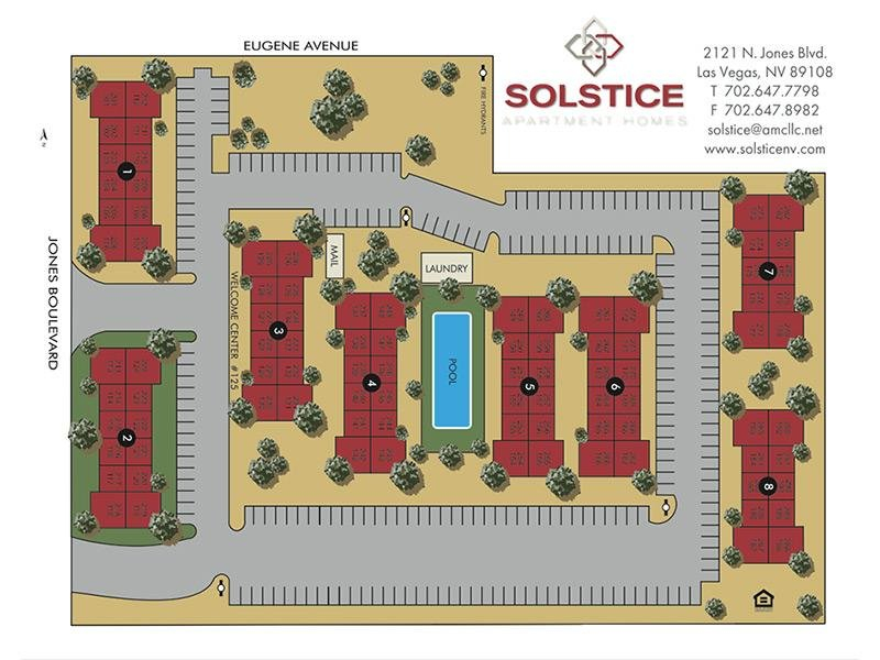 Solstice Apartments in Las Vegas, NV