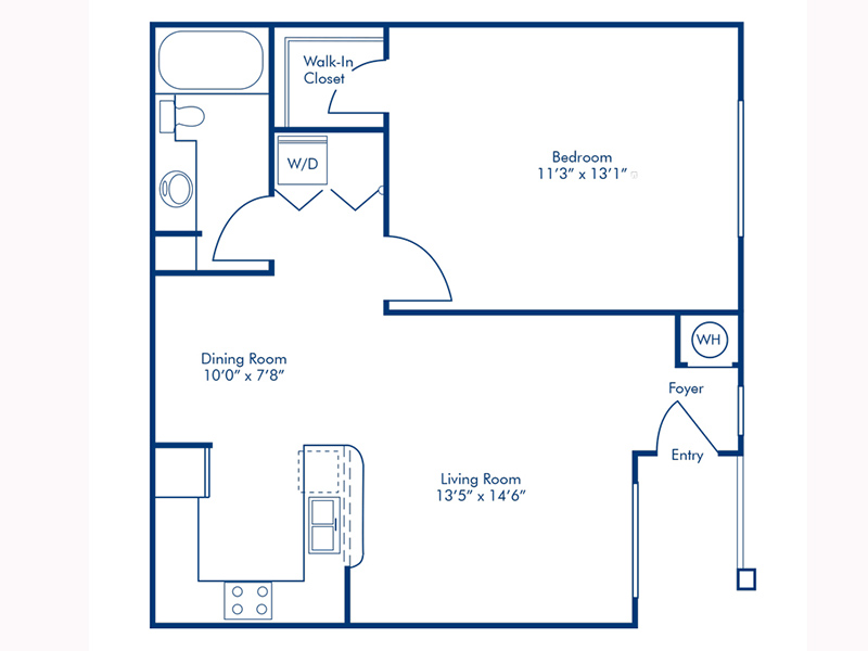 Floor Plans at The Lido Apartments