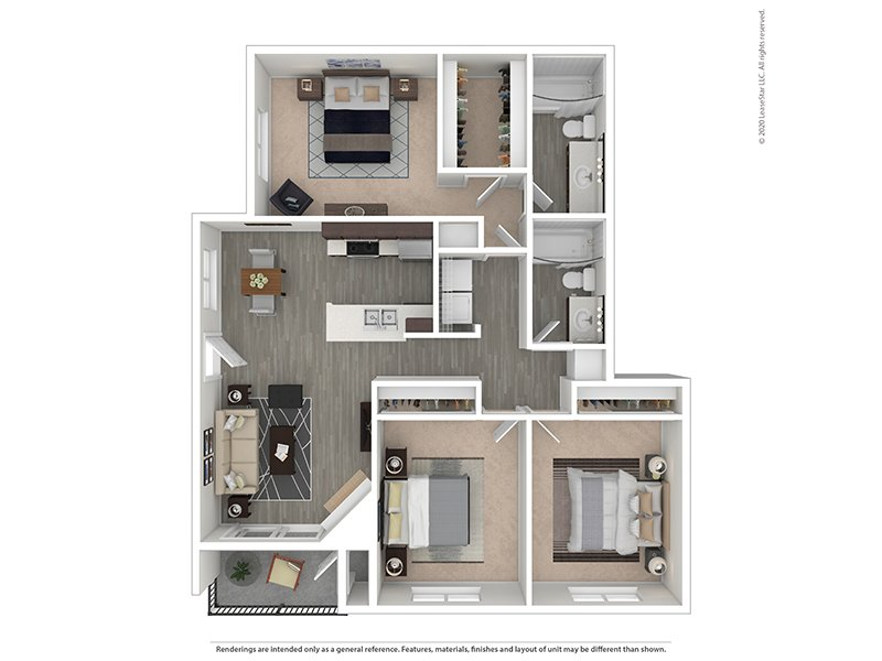 Floor Plans at Capri North and South Apartments
