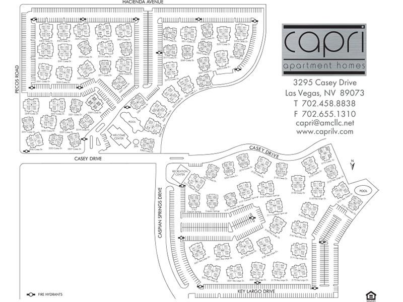 Capri Apartments in Las Vegas