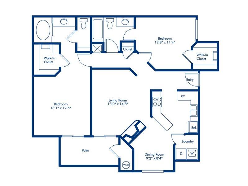 Floor Plans At Torreyana Apartments In Las Vegas Nv
